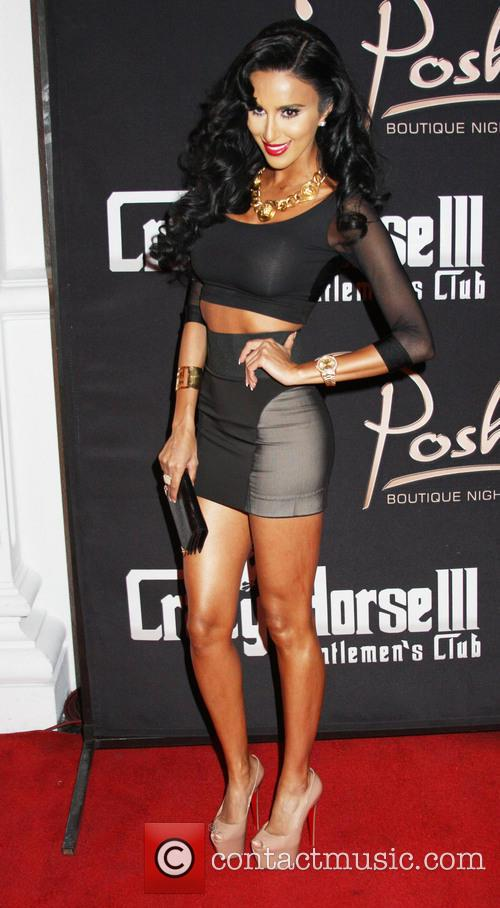 Lilly Ghalichi hosts a night at Posh Nightclub
