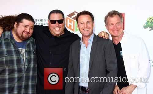 Jorge Garcia, Greg Grunberg, Chris Harrison and Stephen Collins 1