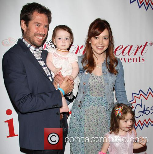 Alexis Denisof and Alyson Hannigan 1