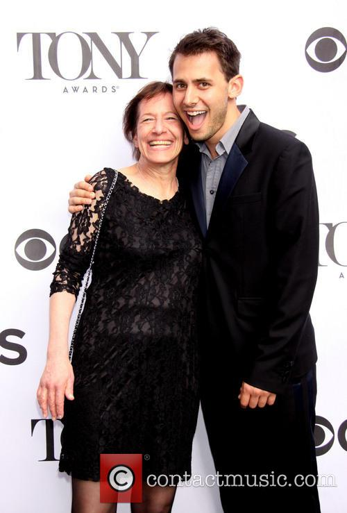 Benj Pasek and Mom 2