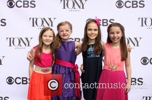 Sophia Gennusa, Milly Shapiro, Oona Laurence and Bailey Ryon 2