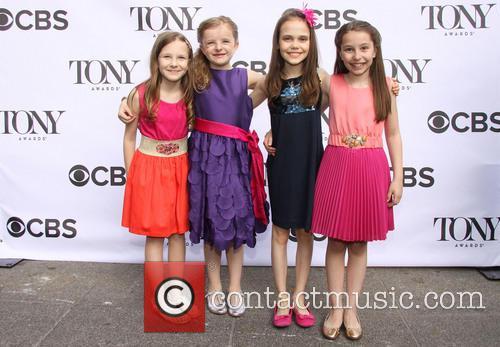 Sophia Gennusa, Milly Shapiro, Oona Laurence and Bailey Ryon 1