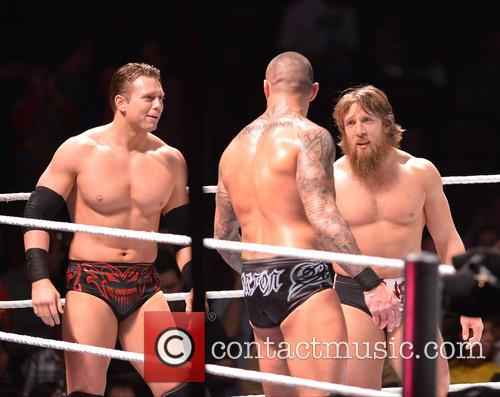 Miz, Randy Orton and Daniel Bryan