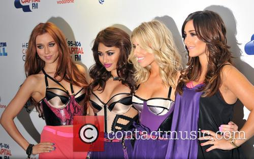 The Saturdays, Una Healy, Vanessa White and Mollie King 2