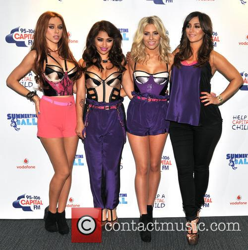 The Saturdays, Una Healy, Vanessa White and Mollie King 3