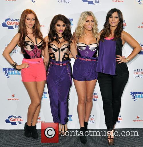 The Saturdays, Una Healy, Vanessa White and Mollie King 4