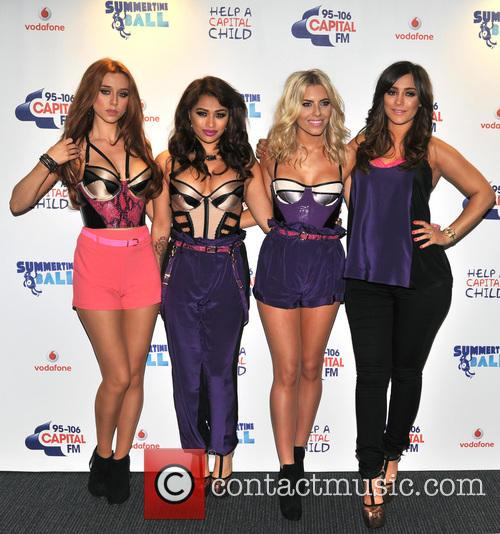 The Saturdays, Una Healy, Vanessa White and Mollie King 5