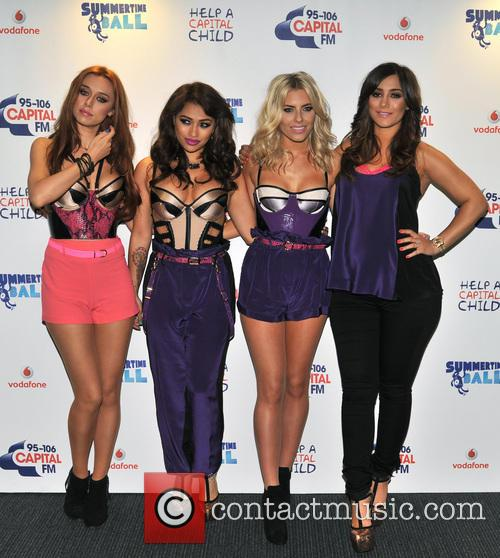 The Saturdays, Una Healy, Vanessa White and Mollie King 6