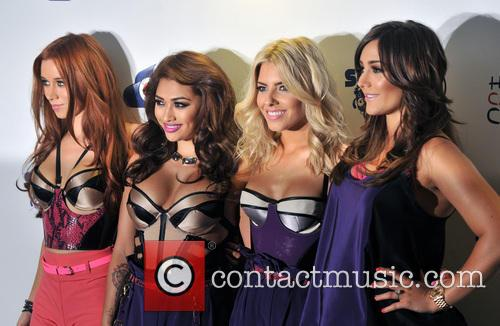 The Saturdays, Una Healy, Vanessa White and Mollie King 1