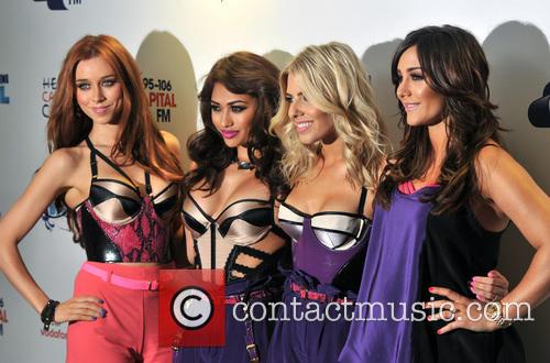 The Saturdays, Una Healy, Vanessa White and Mollie King 7