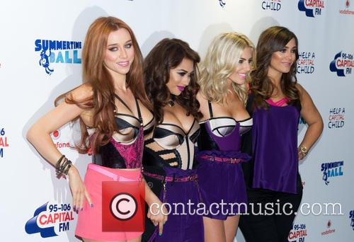 The Saturdays, Una Healy, Vanessa White, Mollie King and Frankie Sandford 8