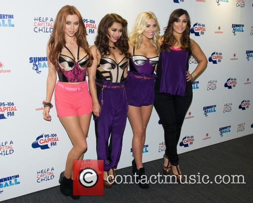 The Saturdays, Una Healy, Vanessa White, Mollie King and Frankie Sandford 9