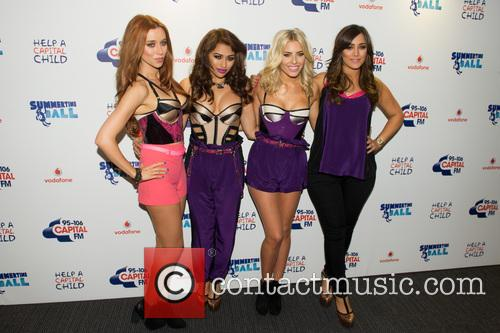 The Saturdays, Una Healy, Vanessa White, Mollie King and Frankie Sandford 10
