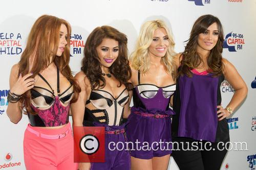 The Saturdays, Una Healy, Vanessa White, Mollie King and Frankie Sandford 11