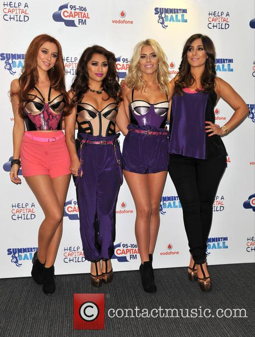 The Saturdays, Una Healy, Vanessa White, Mollie King and Frankie Sandford 6