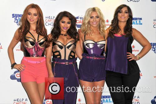 The Saturdays, Una Healy, Vanessa White, Mollie King and Frankie Sandford 1