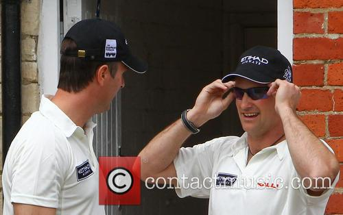 Michael Vaughn and Andrew Strauss 3