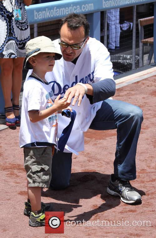 Hank Azaria, Hal Azaria, Dodger Stadium