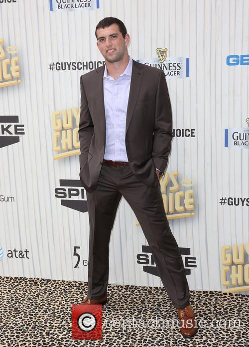 andrew luck spike tvs guys choice awards 3710134