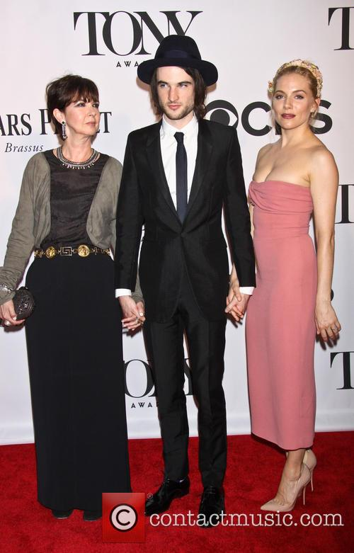 Phoebe Nicholls, Tom Sturridge and Sienna Miller 2