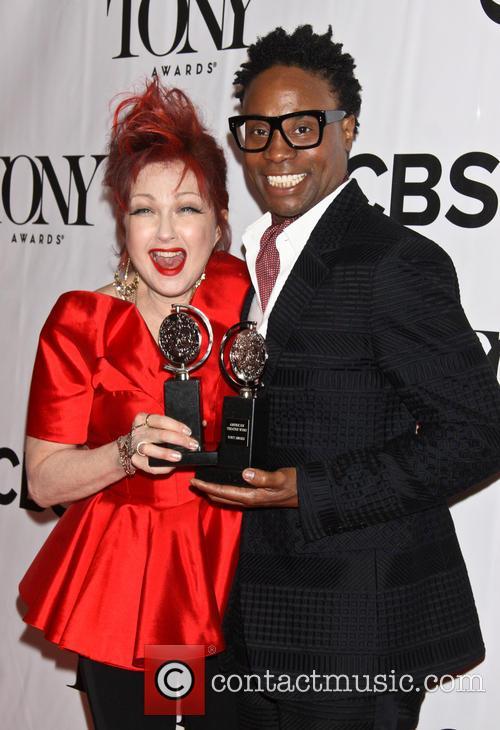 Cyndi Lauper and Billy Porter 5