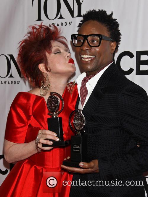 Cyndi Lauper and Billy Porter 6
