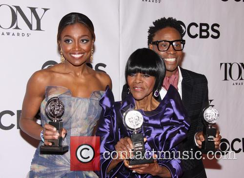 Petina Miller, Cicely Tyson and Billy Porter 3