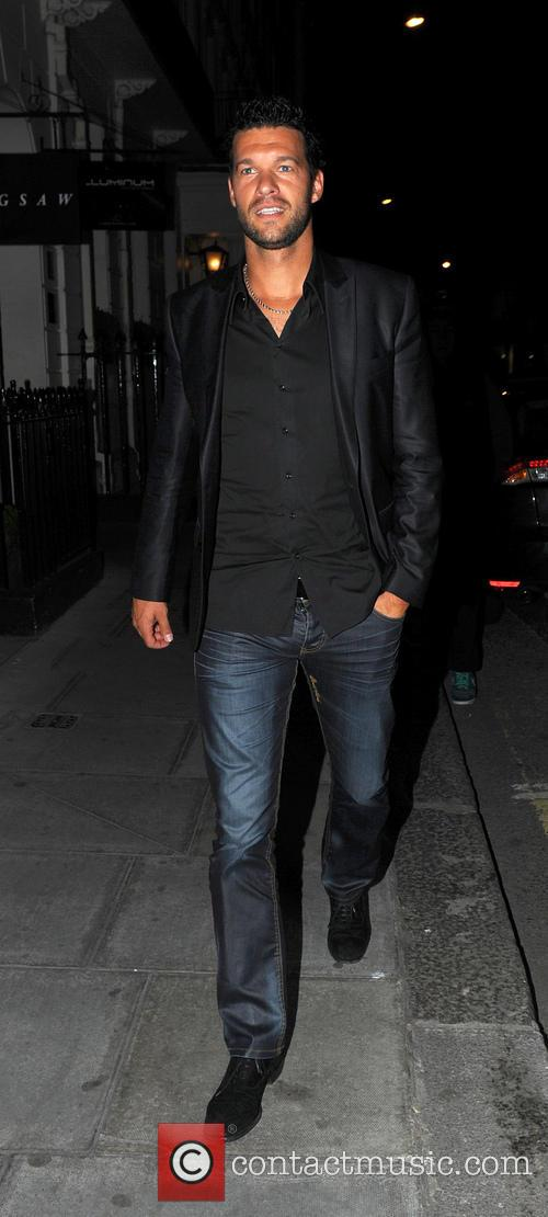 michael ballack celebrities leaving the arts club 3712187