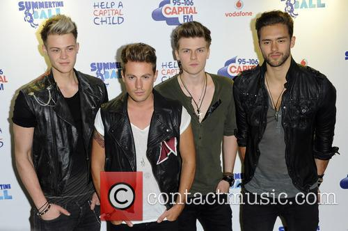 Andy Brown, Ryan Fletcher, Adam Pitts, Joel Peat and Lawson 1
