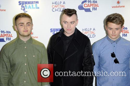 Sam Smith, Howard Lawrence and Guy Lawrence Of Disclosure