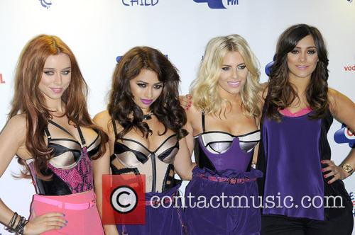 Una Healy, Vanessa White, Mollie King and Frankie Sandford of The Saturdays 2