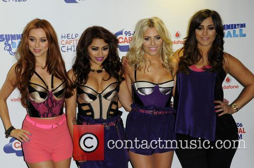 Una Healy, Vanessa White, Mollie King and Frankie Sandford of The Saturdays 3