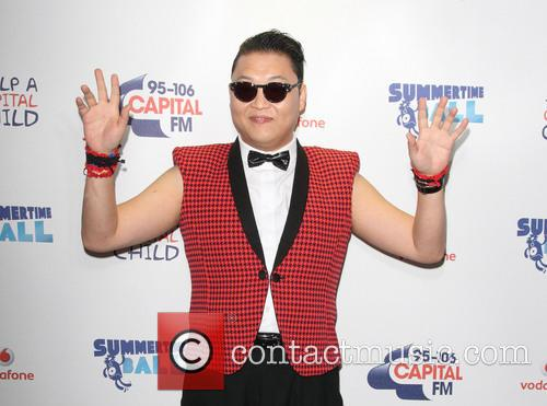 Psy, Wembley Stadium