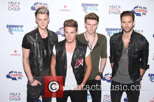 Andy Brown, Ryan Fletcher, Adam Pitts, Joel Peat and Lawson 3