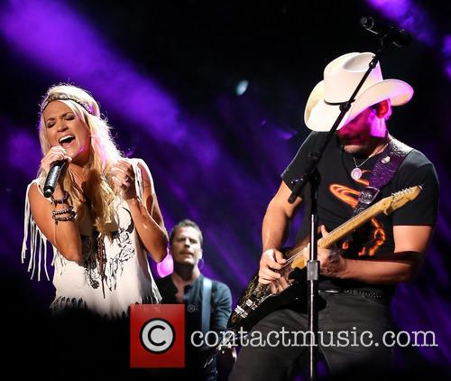 Carrie Underwood and Brad Paisley 1