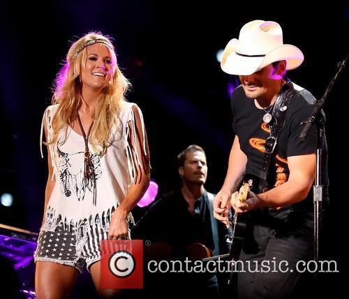 Carrie Underwood, Brad Paisley, CMA Music Festival