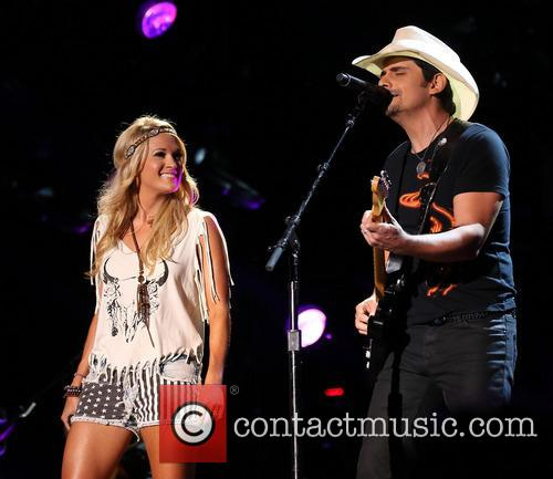 Carrie Underwood and Brad Paisley 7