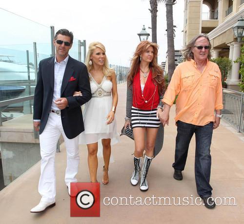 Gretchen Rossi, Slade Smiley, Kimberly Friedmutter, Brad Friedmutter, Balboa Bay Club