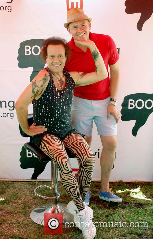 Richard Simmons, Jeff Consoletti, West Hollywood Park