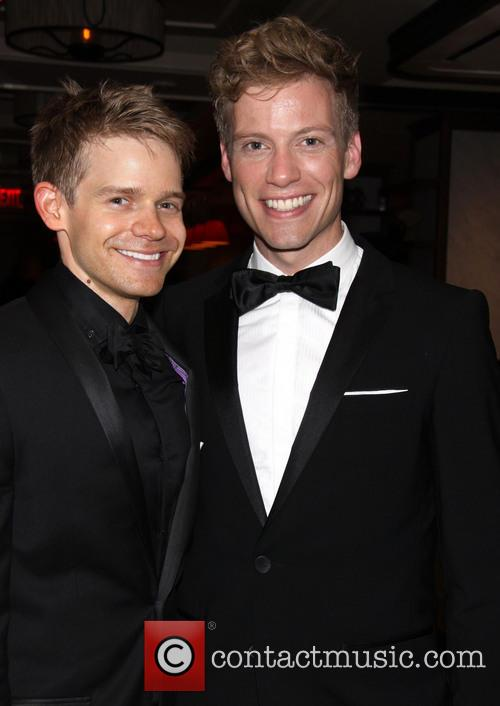 Andrew Keenan-bolger and Barrett Foa 4