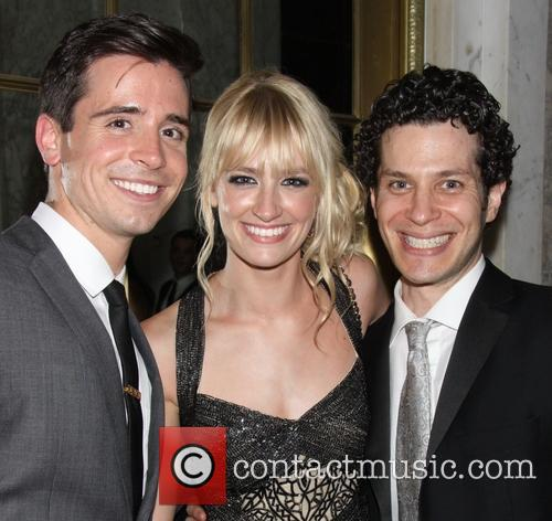 Matt Doyle, Beth Behrs and Thomas Kail 6