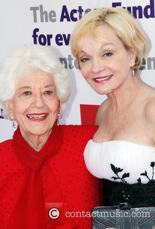 Charlotte Rae and Cathy Rigby