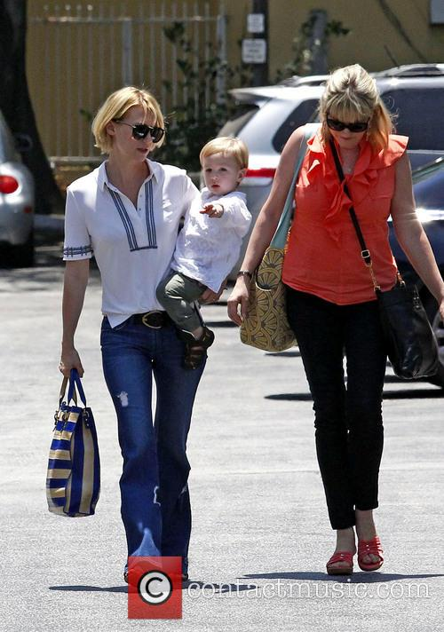 January Jones, Xander Jones and Karen Jones 3