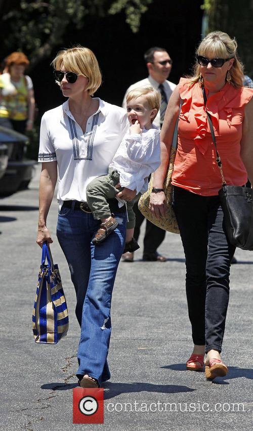 January Jones, Xander Jones and Karen Jones 4