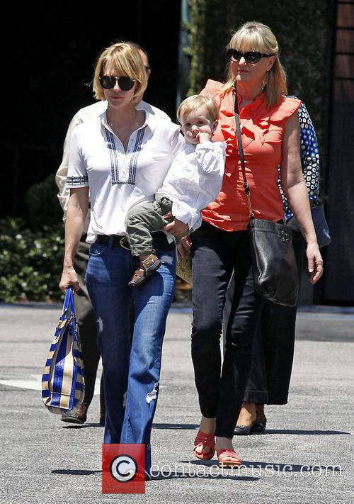 January Jones, Xander Jones and Karen Jones 7