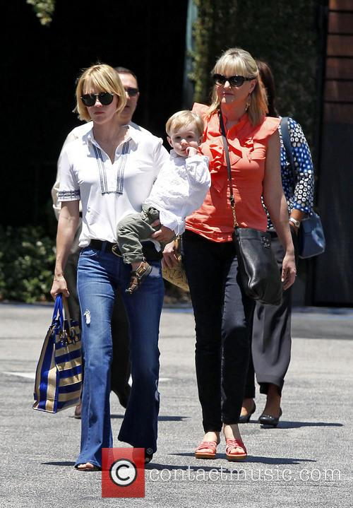 January Jones, Xander Jones and Karen Jones 9