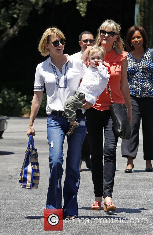 January Jones, Xander Jones and Karen Jones 10