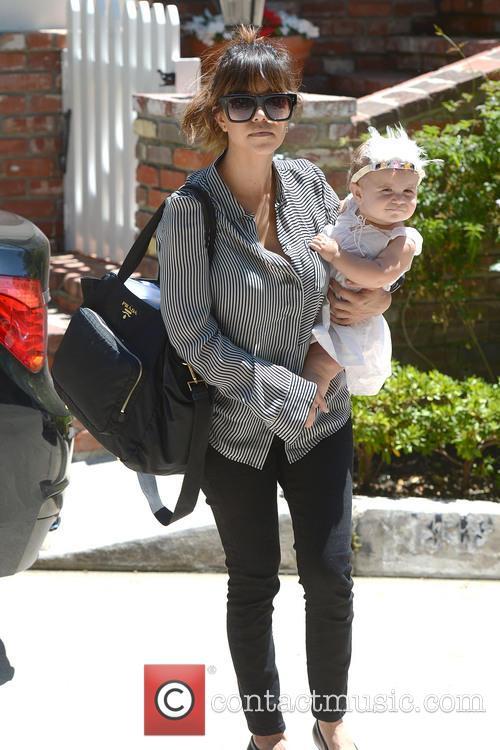 Kourtney Kardashian and Penelope 7