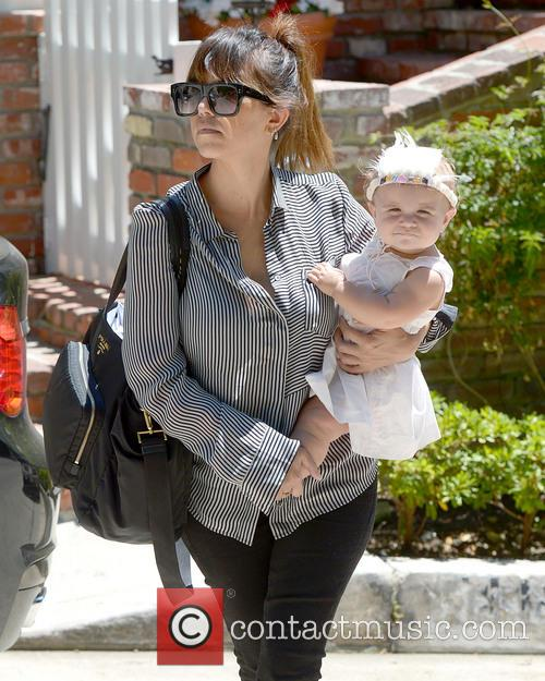 Kourtney Kardashian and Penelope Leave a Parenting Class...