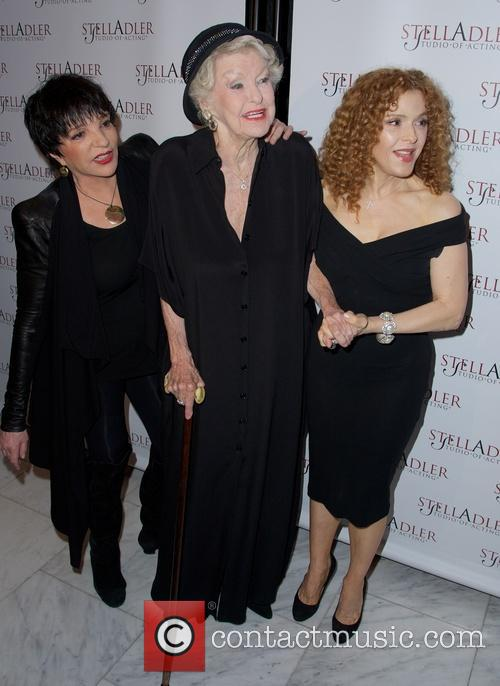 Liza Minnelli, Elaine Stritch and Bernadette Peters 6